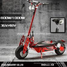 Scooter portable à 2 roues portables pliable portable 1000W pour Adult China Factory