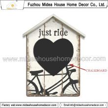 Die stilvolle natürliche schwarze Memo-Tafel für die Home Party