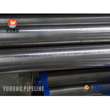 Incoloy 800HT ASTM B163 tubo sem costura