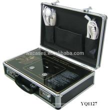carcasa de aluminio fuerte y portátil para la venta por mayor de equipo electrónico