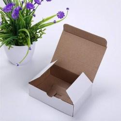 white gift packaging carton box