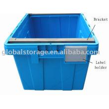 Deckelbehälter (Bracket & Label)