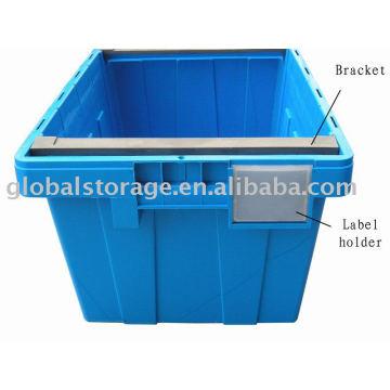 Couvercle de conteneur (support et étiquette)