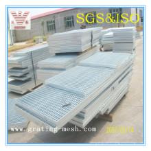 Barre galvanisée/ fermée/ caillebotis en acier pour système de drainage