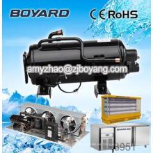Tamaños de compresor de refrigeración comercial refrigeración neveras industriales 1890w 1000btu para maquinaria de almacén frigorífico