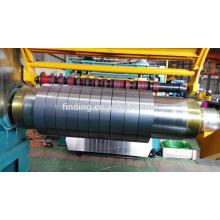 Hangzhou bobina de acero corte línea chapa corte a la línea de la longitud