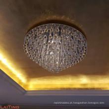 Cristal Flush Mount novos produtos 2017 moderno candelabro lâmpada do teto