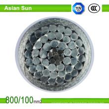 BS / ASTM / CSA blanker obenliegender Aluminiumleiterstahl verstärken ACSR