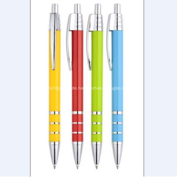 Werbeartikel Logo Kunststoff Kugelschreiber