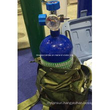 High Pressure Medical Oxygen Cylinder with Bag Pack