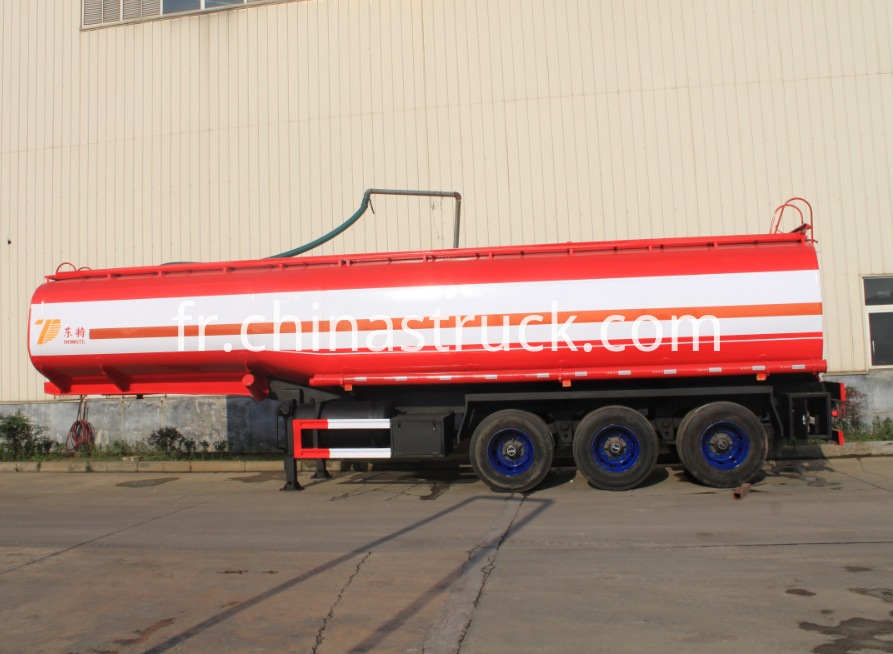 3 BPW axle 40CBM oil tank semi-trailer