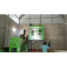 Rice mill dryer dual action polisher