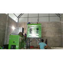 Pulidora de doble acción con secador de molino de arroz
