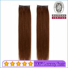 Dark Brown Brazilian Human Virgin Hair Micro Ring Hair Extension Remy Straight Hair