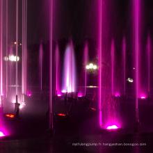 Fontaine de musique Ewaterart dans le lac