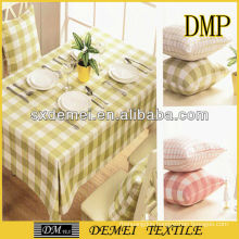 types of woven striped cotton polyester canvas fabric