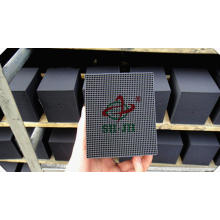 Odor Elimination Cube Shape Honeycomb Activated Carbon For Mercury Removal