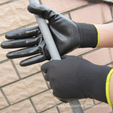 Auto Repair Gloves Nitrile Dipped Glove Maintenance Work Gloves