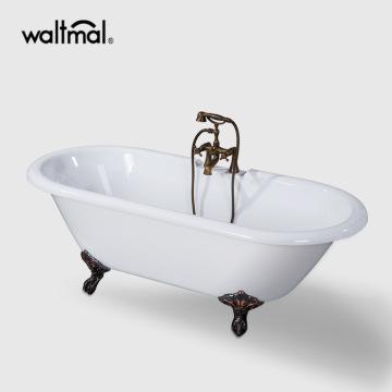 Antique Acrylic Clawfoot Bathtub