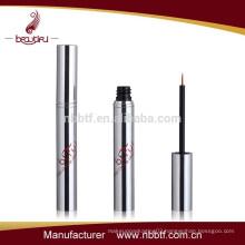 AX15-52, 2015 Fashionable Silvery Empty Aluminum Eyeliner Tube