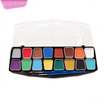 Bonne couverture Private Label 16Colors Face Paint Kit