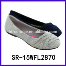 Hot selling comfort flat shoes ladies fashion shoes lady shoes 2015