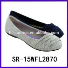 Горячая продажа комфорт плоские туфли дамы моды обувь леди обувь 2015