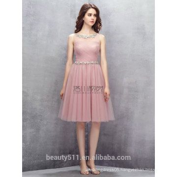 New Fashion Sexy Elegant Sheath Sweetheart pink short evening dress prom dresses ED582