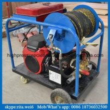 China Hersteller Benzinmotor Hochdruckkanal Reinigung Wasserstrahl Blaster
