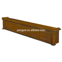 Classical useful brown color reception table 06