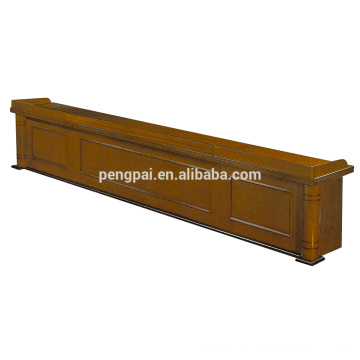 Classical useful brown color reception table 09