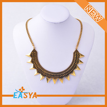 Ancient Bronze Plated Vintage Necklace Simple Design Of Necklace Vners