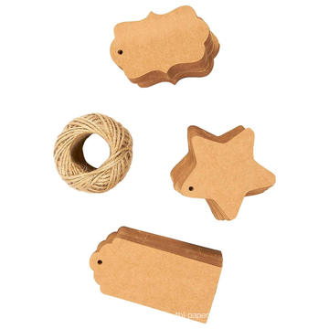 Different Styles Kraft Paper Hang Tags