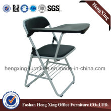 PU Seat and Back Foldable Chair Conference Chair Training Chair