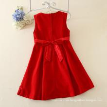 Venta al por mayor más reciente 2-7 años de edad vestido de niña vestido de fiesta de tutú de invierno para niñas