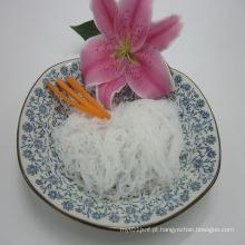 Pasta de cabelo de cabelo de anjo de Konjac de baixa caloria Shirataki Noodle