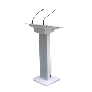 T-100 Modern Design White Rostrum Podium