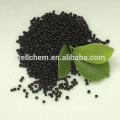 Negro Granulado orgánico NPK 12-0-1 fertilizante
