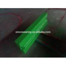 Blow bar Mn13Cr2 Mn18Cr2 Mn22Cr2High Chrome Cr26 Cr20Mo Cr15Mo Martensitic Manganese Céramique- Pièces détachées concasseur à percussion