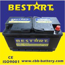 Стандартная аккумуляторная батарея стандарта DIN 100ah 12V Автомобильная аккумуляторная батарея 60038-Mf