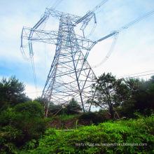 Torre de acero en ángulo de esquina 220kV