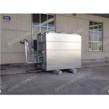 100 Ton Closed Circuit Cross Flow GHM-100 Kühlturm füllen Nicht runder Chiller Ausrüstung für Zwischenfrequenz Ofen