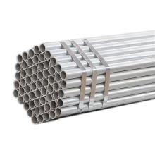 best price of steel pipe with zinc coating ! bs 1387 scaffolding 5.6m 5.8m 6 meter galvanized steel pipe