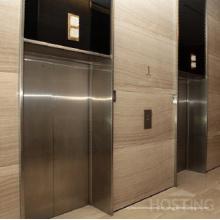 Ascensores / ascensores de pasajeros sin espacio de la máquina con espacio cómodo