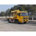 DongFeng 4*2 road sweeper machine, road sweeper truck with low price