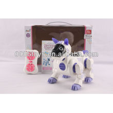 16CM infrared 2 channel RC capacity dog with light and music