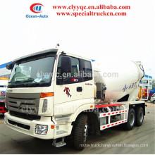 Auman brand! capcity: 8-10 m3 concrete mixer truck, 6X4 concrete mixer truck for sale