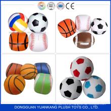 brindes promocionais de crianças de pelúcia de futebol e brinquedo do esporte