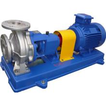 Pompe chimique centrifuge d'acier inoxydable approuvée par CE d'acier inoxydable