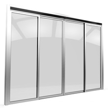 Integral Sliding Door